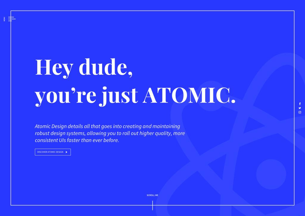 Atomic Page 1024x728 1024x728 Atomic Design: la morte programmata delle pagine web