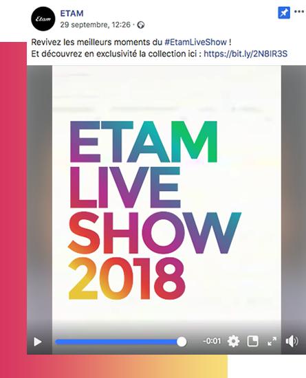 DISKO etam Le tendenze social media 2019