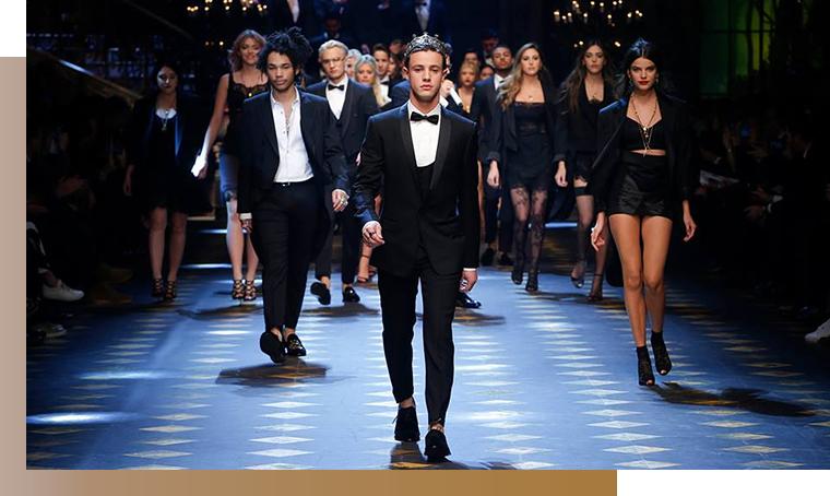 DISKO Dolce Gabbanna Cameron Dallas Urban culture e brand di lusso: nuovo promettente idillio?