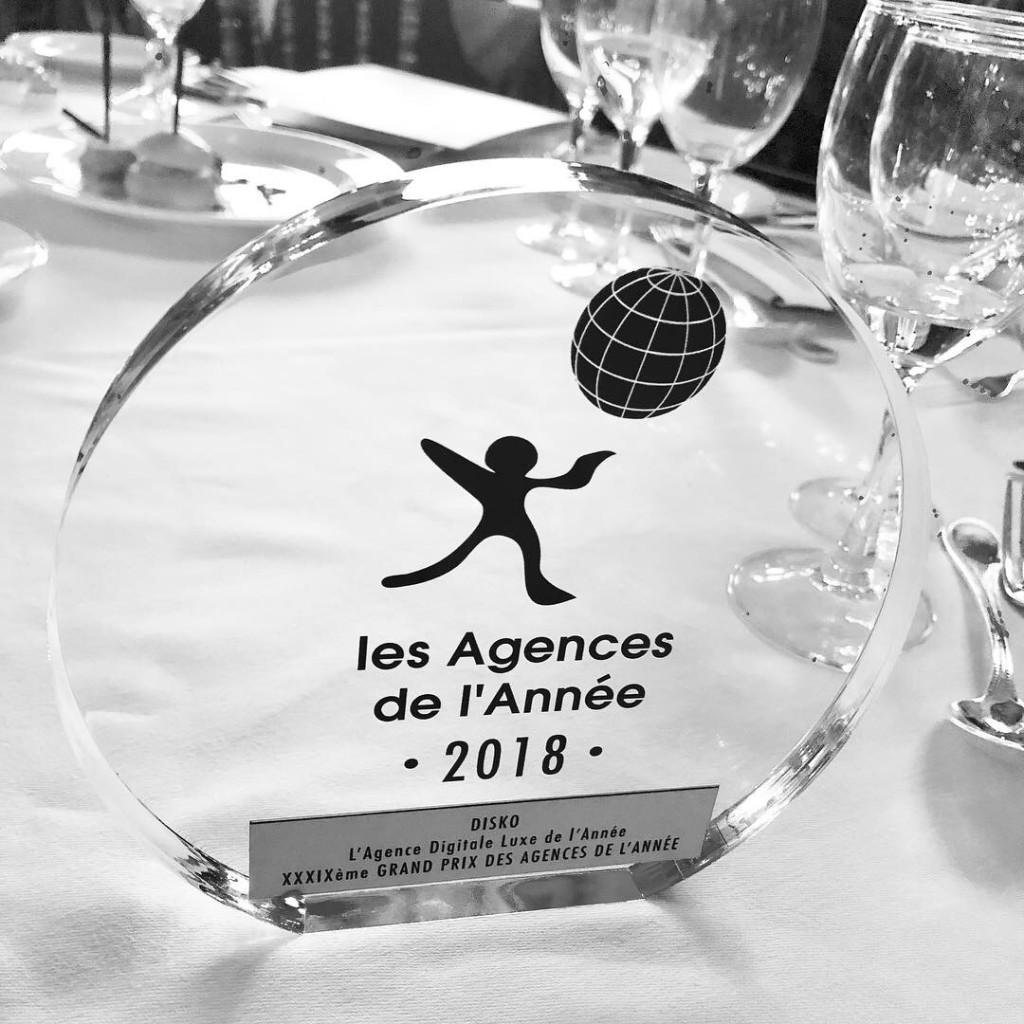 DISKO Luxury Digital Agency of the Year 2018 1024x1024 DISKO è Luxury Digital Agency of the Year