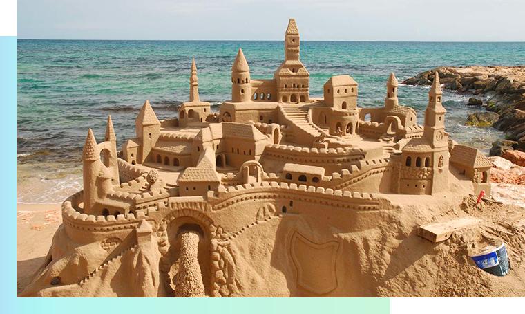 Progetto terminato castello sabbia Best practice per gestire al meglio un progetto web dalla A alla Z