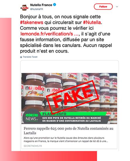 Nutella Fake news, un vero e proprio fenomeno social