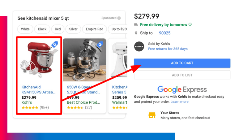 Google Express Quando Google sostituirà il 100% del tuo sito web