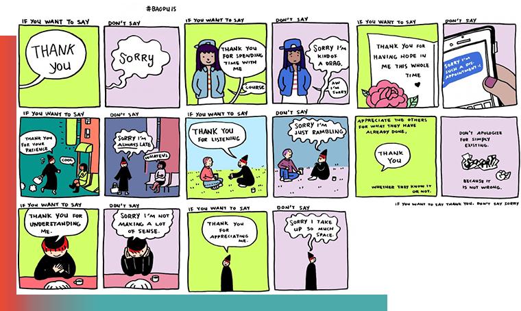 """Yoa Xiao Più """"Grazie"""" e meno """"Scusa"""": come esprimere al meglio la propria riconoscenza"""